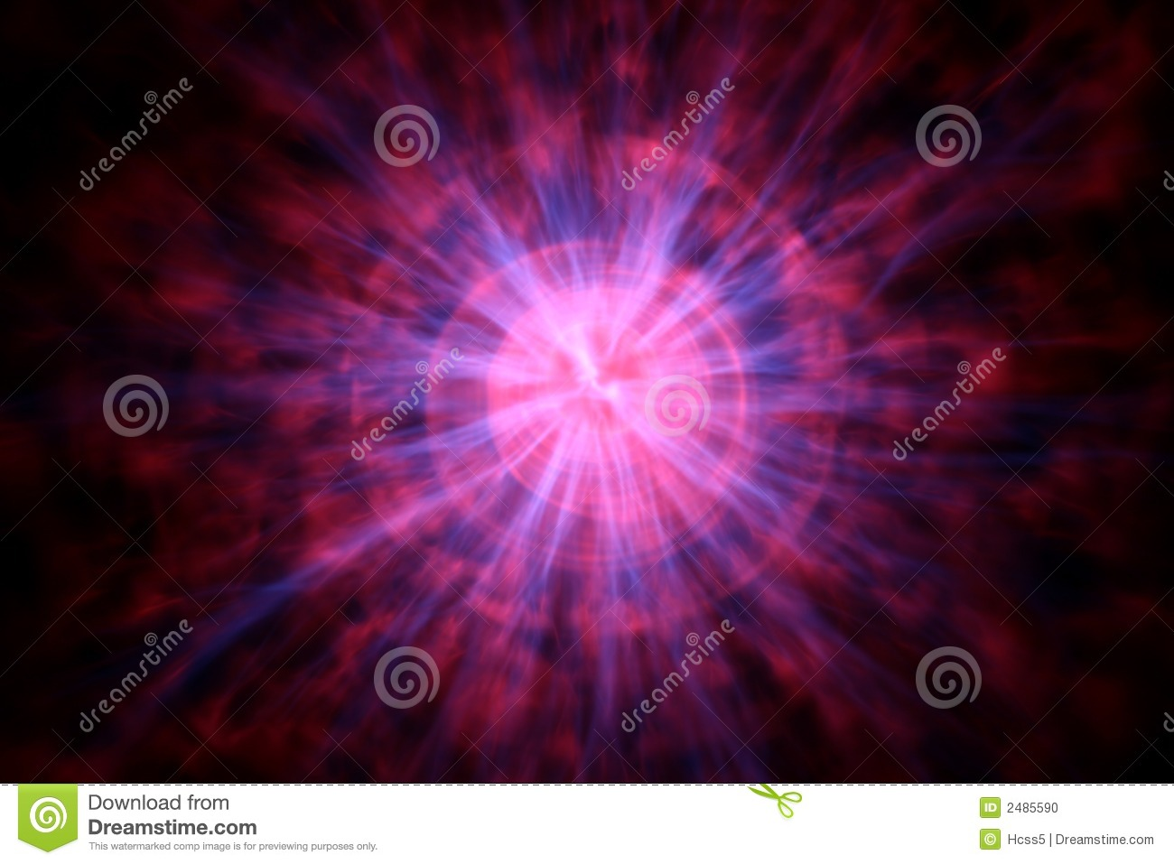 Plasma Ball Stock Photo.