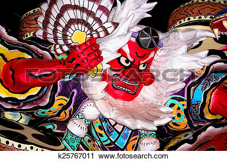 Stock Photography of Tengu of Nebuta festival k25767011.