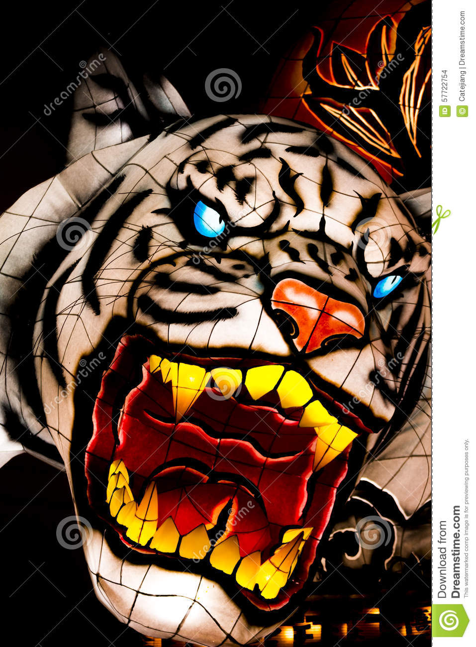 Nebuta Parade Float Editorial Stock Image.