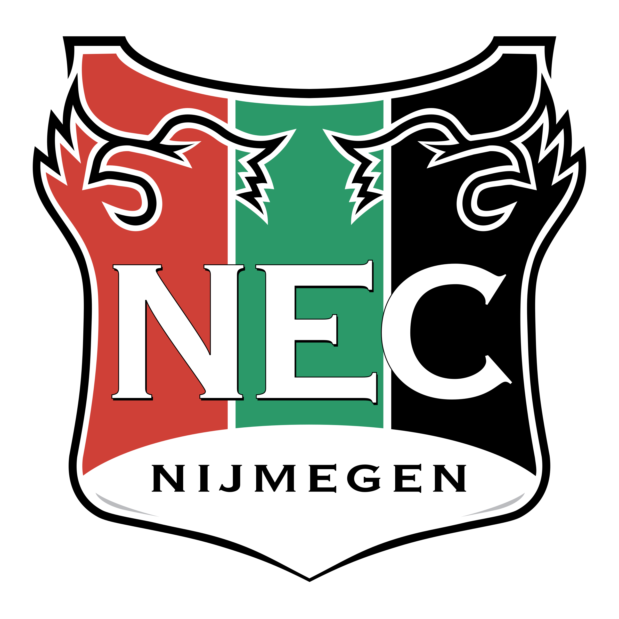 NEC Nijmegen Logo PNG Transparent & SVG Vector.