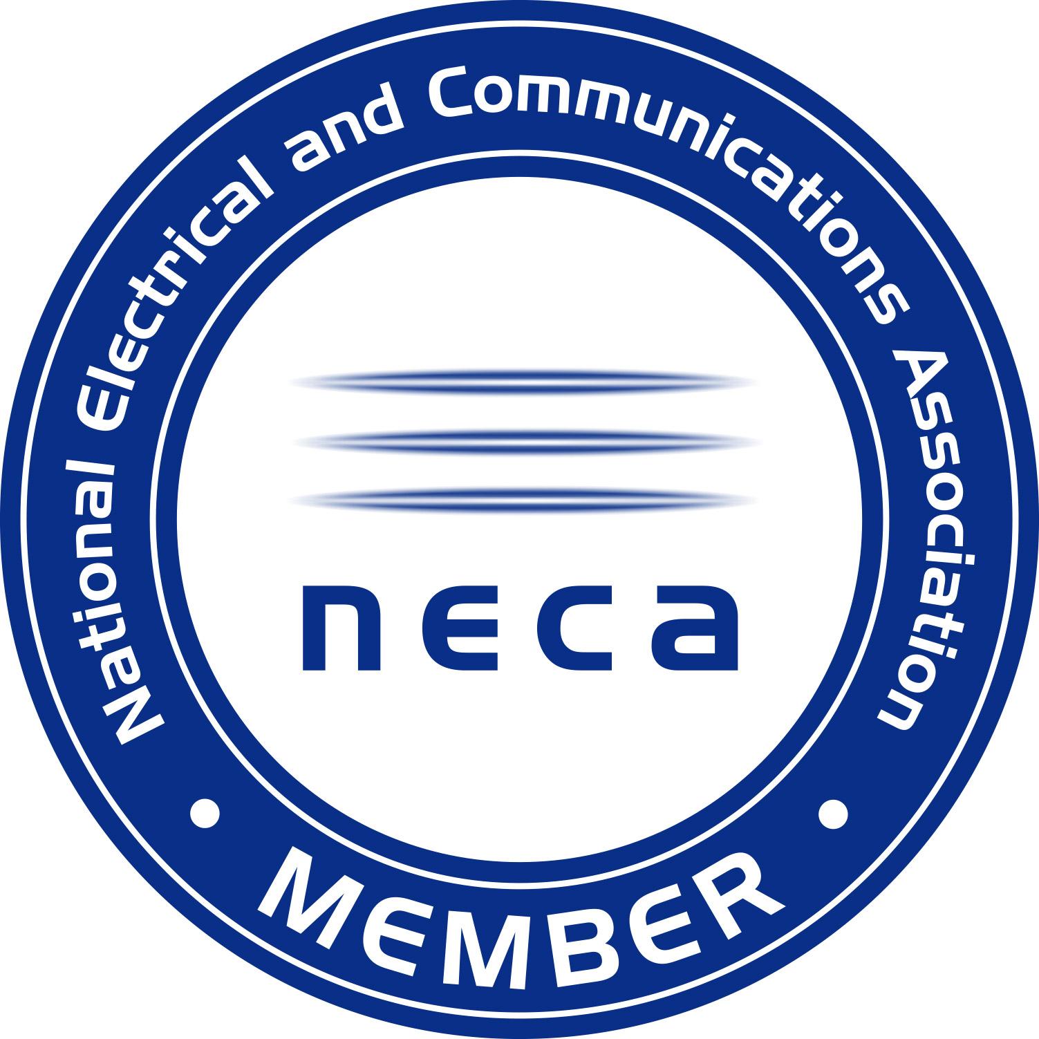 New NECA Member Logo.