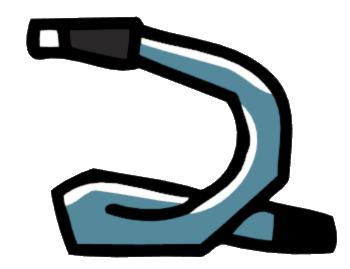 Neck strap clipart #10