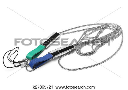 Stock Photography of Neck strap lanyards for cell phone k27365721.