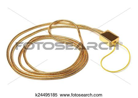 Stock Image of Neck strap lanyard for cell phone k24495185.