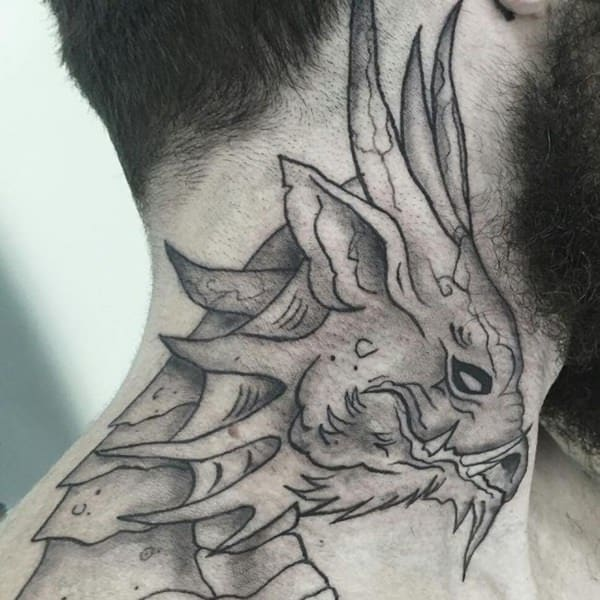 125 Top Neck Tattoo Designs This Year.