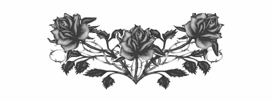 Goth Tattoo Png Transparent Image.