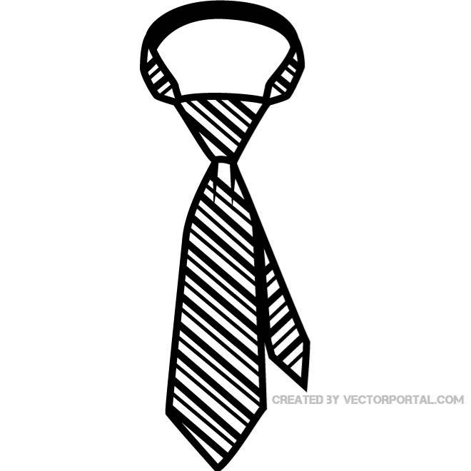 Neck tie clipart #16