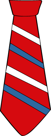 Necktie clipart #9