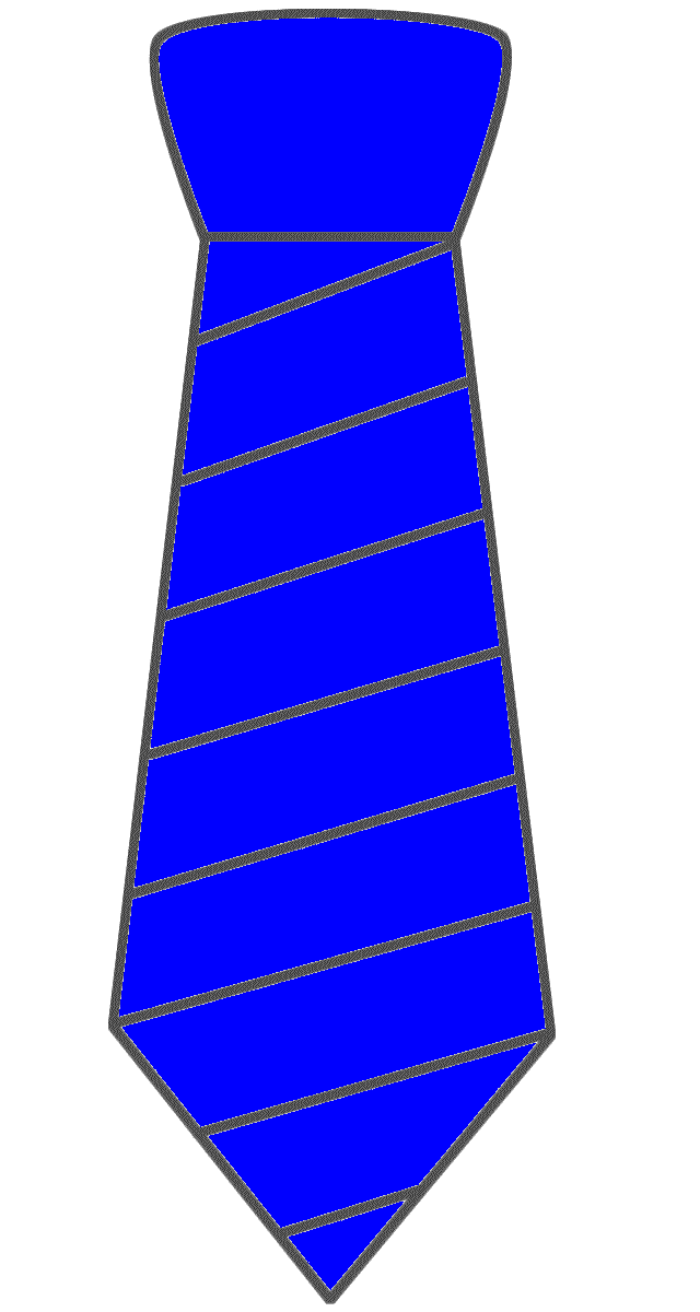 Neck ties clipart #4
