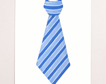 Men's Ties Clipart.