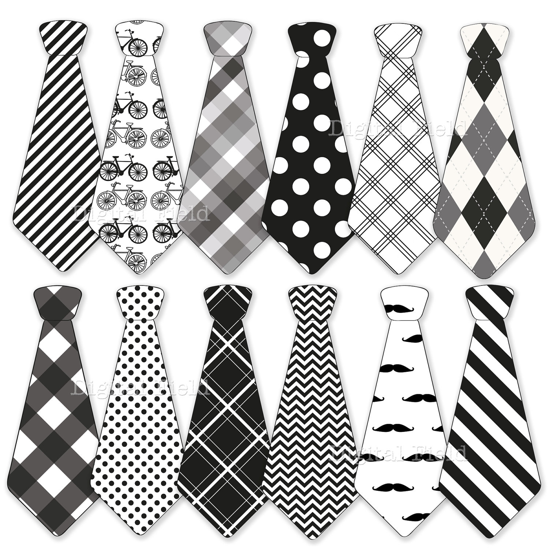 Neck Tie Clip Art.
