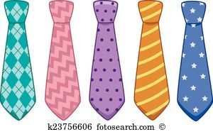 Neck ties clipart #5