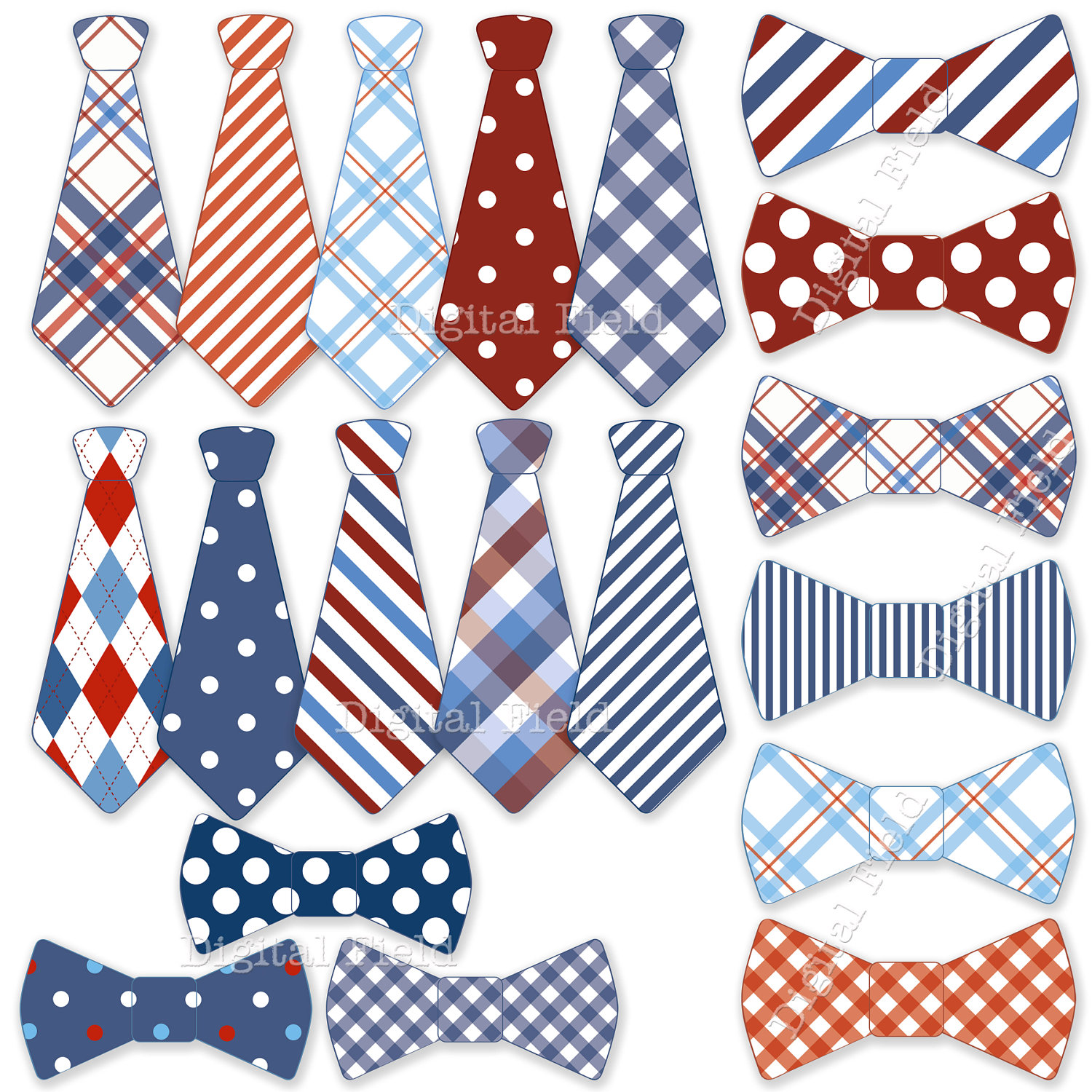 Neck ties clipart #12