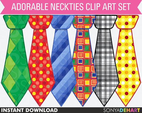 Neck ties clipart #16