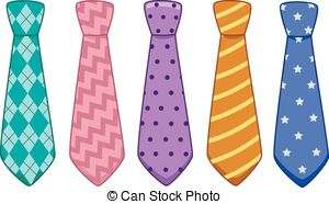 Neck ties clipart #14