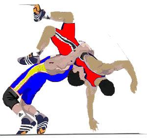 Neck wrestling clipart #18