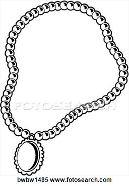 Necklace clipart #7