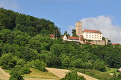 Neckar Valley, Germany Stock Photography.