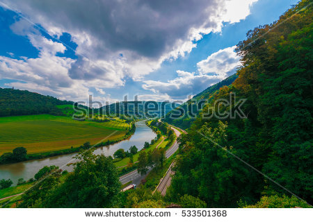 """neckar River"" Stock Photos, Royalty."