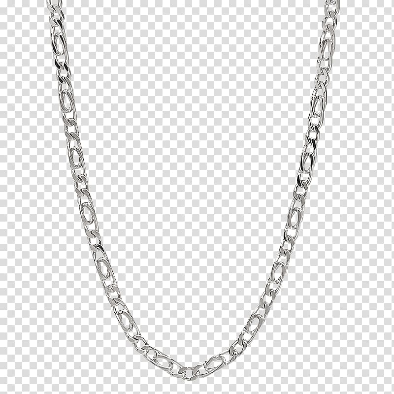Figaro chain Jewellery chain Silver Necklace, chain.