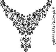 Necklace Clip Art.