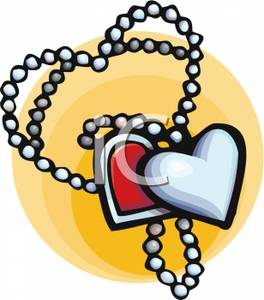 Necklace clipart #17
