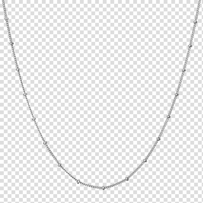 Necklace Jewellery Chain Sterling silver, silver chain.