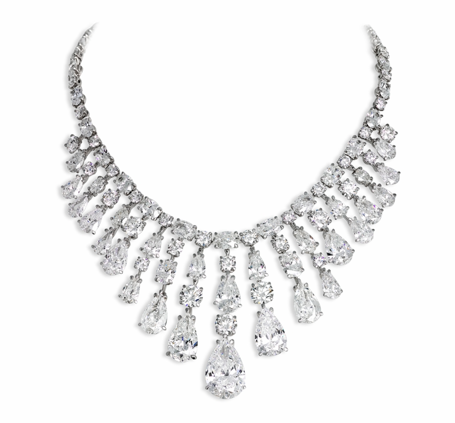 Diamond Necklace Png Transparent , Png Download.