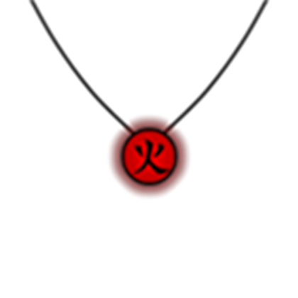 Fire Necklace.