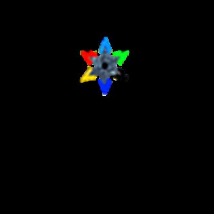 Element Ninja Star Necklace.
