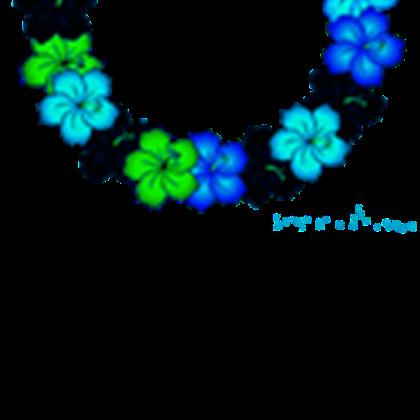 Hawaii Flower Necklace.
