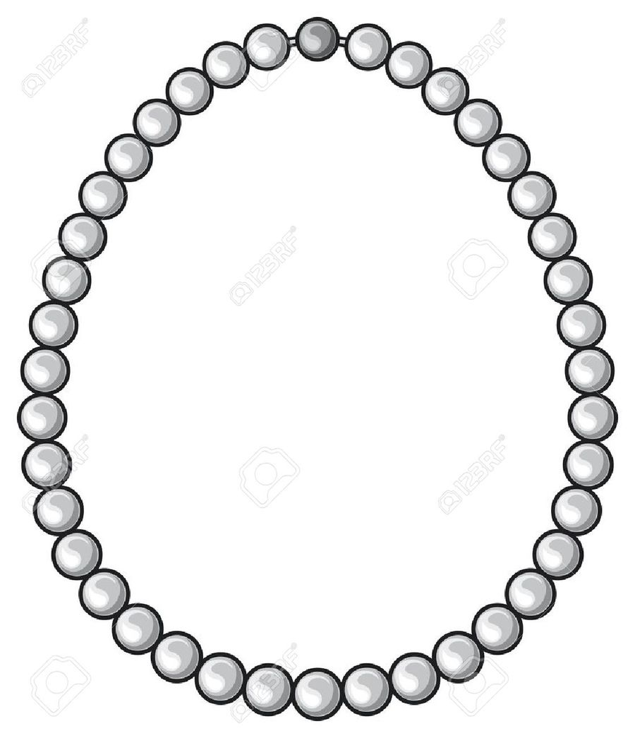 Download pearl necklace vector clipart Necklace Clip art.