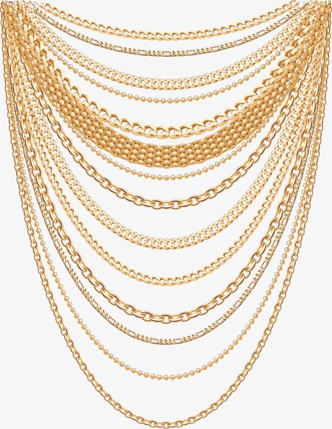 Vector Necklace, Necklace, Vector, Accessories PNG.