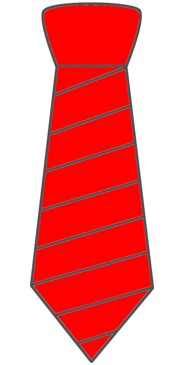 Men's Tie Printable Clipart.