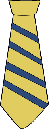 Tie Clip Art.