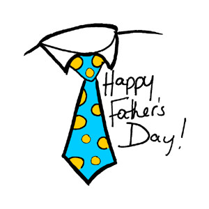 Father's Day Tie Clipart.