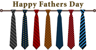 Fathers Day Tie Clipart.