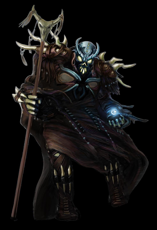 Free Necromancer Clip Art.