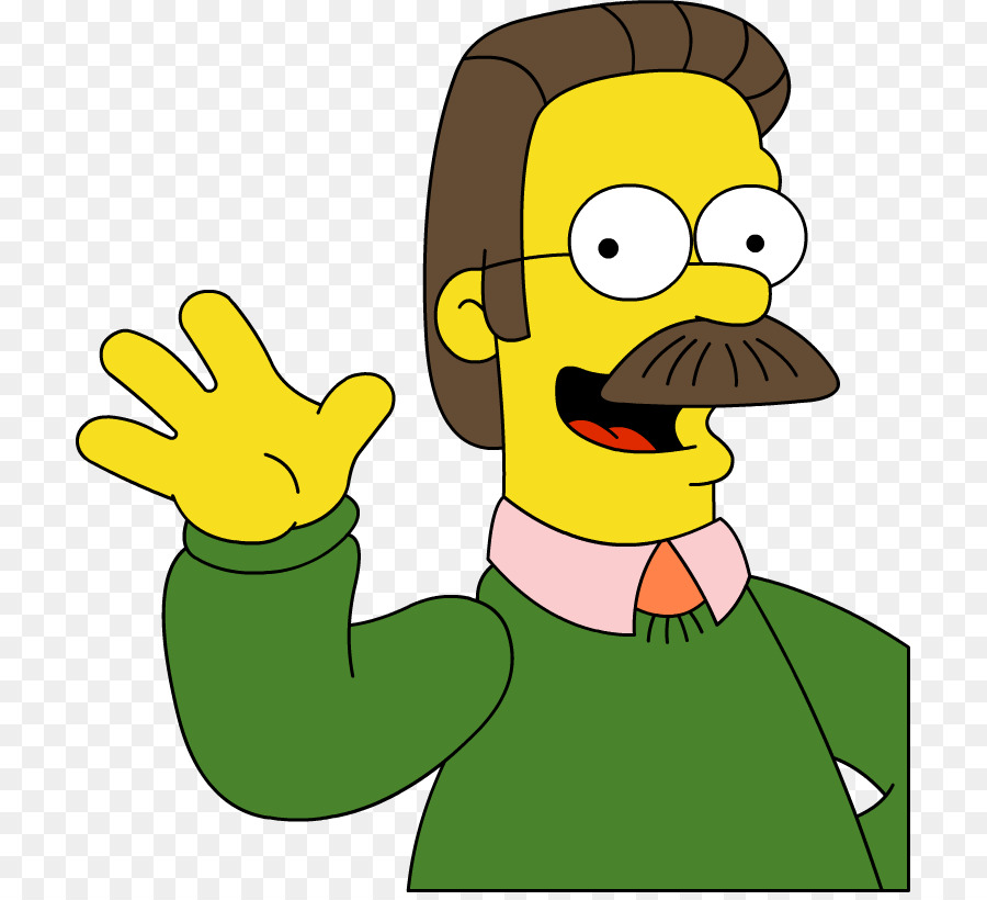 Download Free png Ned Flanders Homer Simpson Bart Simpson.