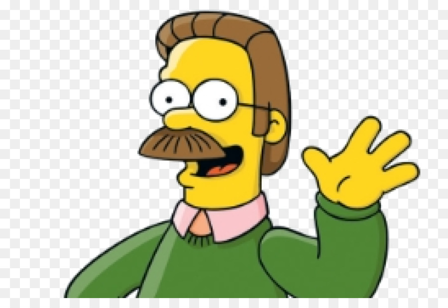 Ned Flanders Thumb png download.
