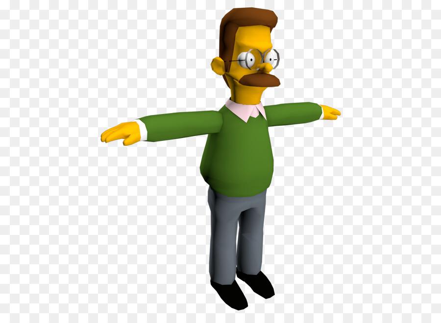 Ned Flanders Homer Simpson Marge Simpson #550242.