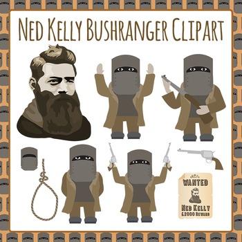 Bushranger Ned Kelly.