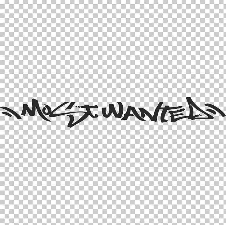 Need For Speed: Most Wanted Graffiti Sticker Font PNG.