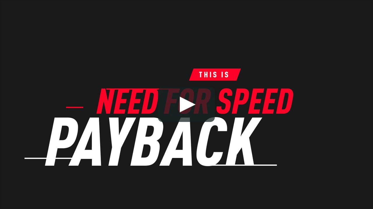 This is Need for Speed Payback.