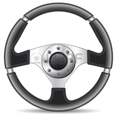 Car Steering Wheel Clipart.