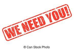 We need you Illustrations and Stock Art. 650 We need you.