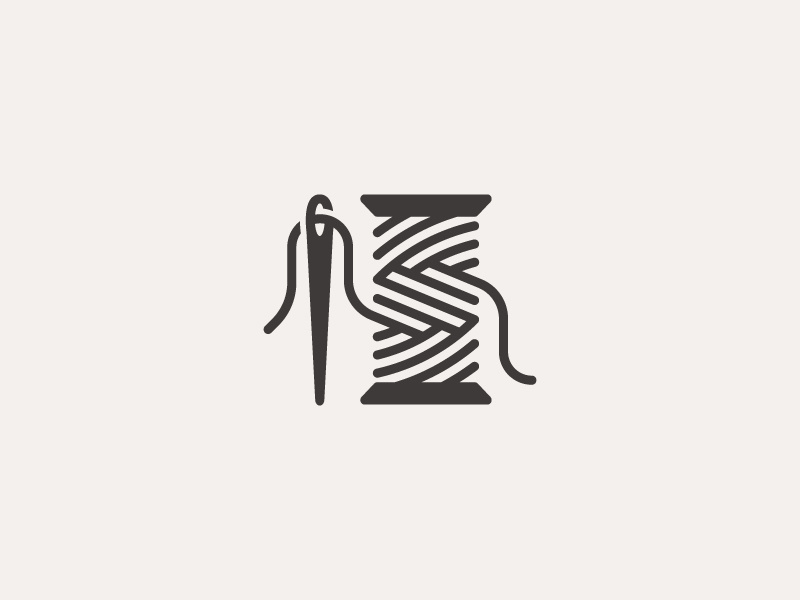 Needle & Thread by Dimitrije Mikovic on Dribbble.