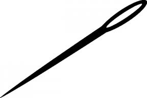 Needle Eye Clip Art.