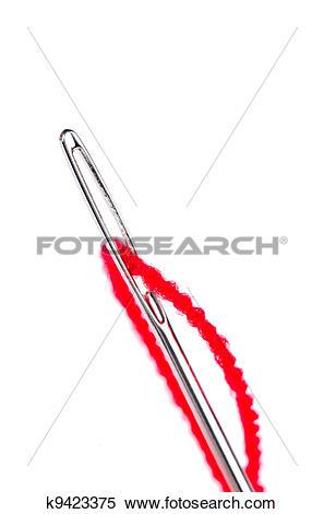 Stock Image of Needle eye k9423375.