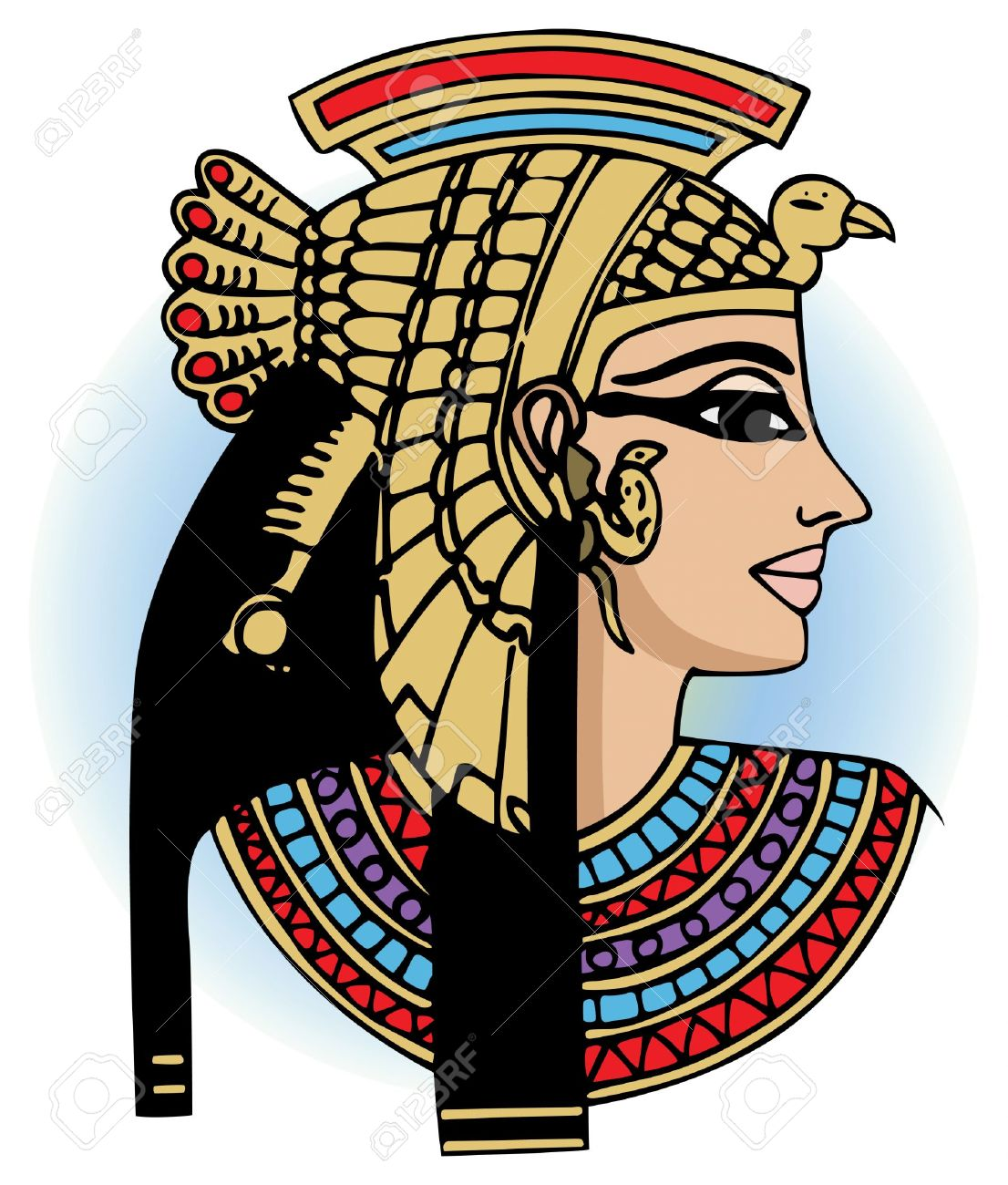Egyptian Queen Clipart.